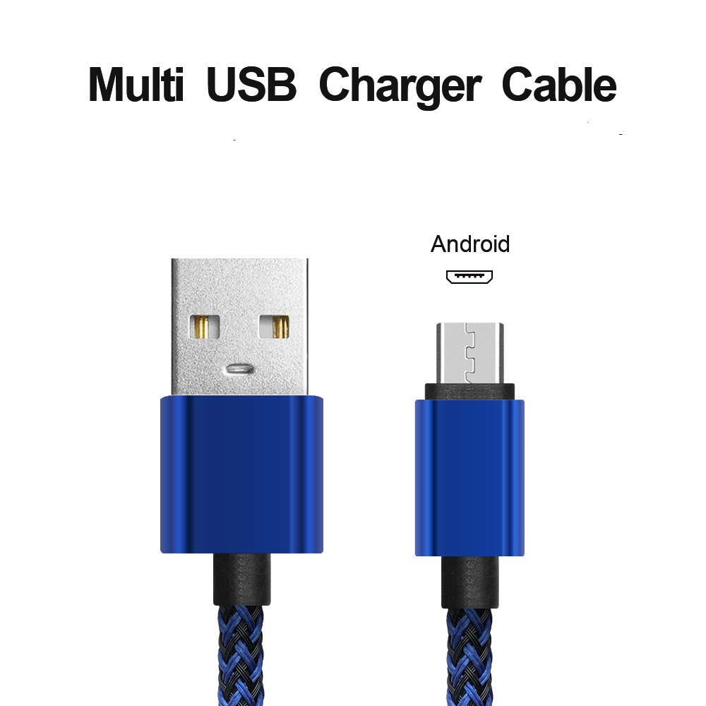 Ice-bingo 2A Micro USB  data cable fast charging Braided cable