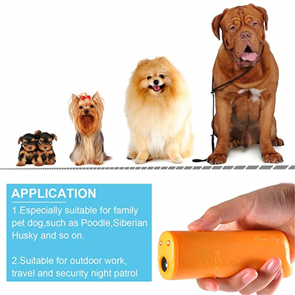 3 in 1 Anti Barking Stop Bark Device Dog Training Repeller Control LED
