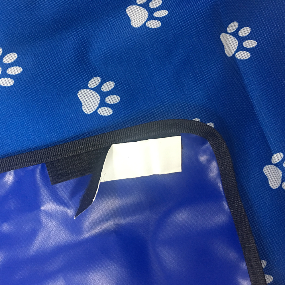 600D Oxford Cloth Printing Waterproof Pet Dog Cat Car Trunk Cover Pet Blanket