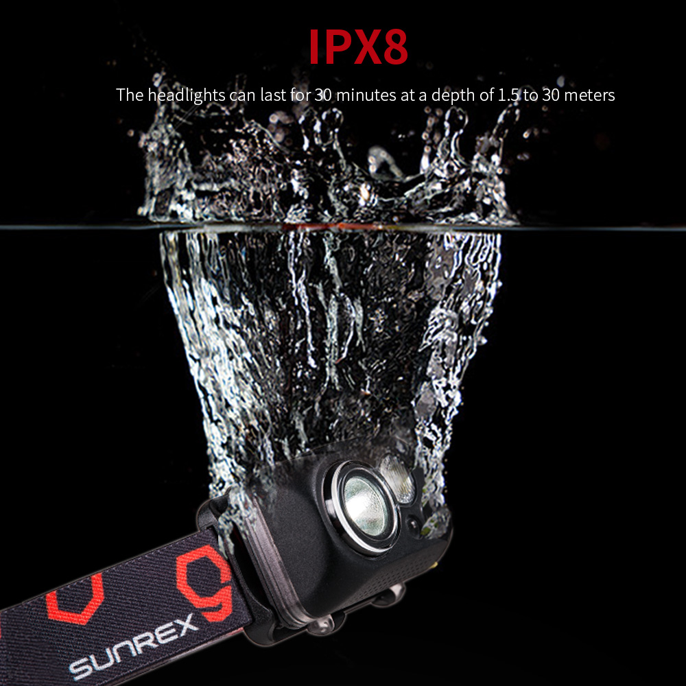 SUNREI YoudoX  Intelligent Induction Fishing Outdoor Headlights