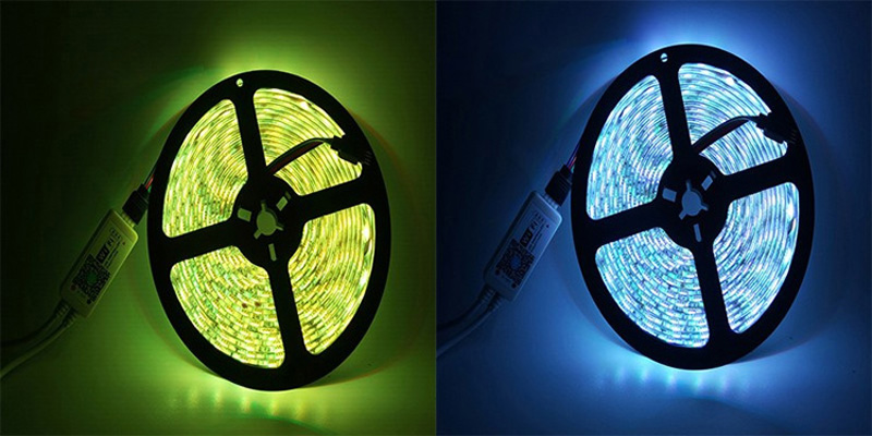 Jiawen 5M Waterproof Ip65 Smart Home Wi-Fi Rgb Led Strip Light Kit