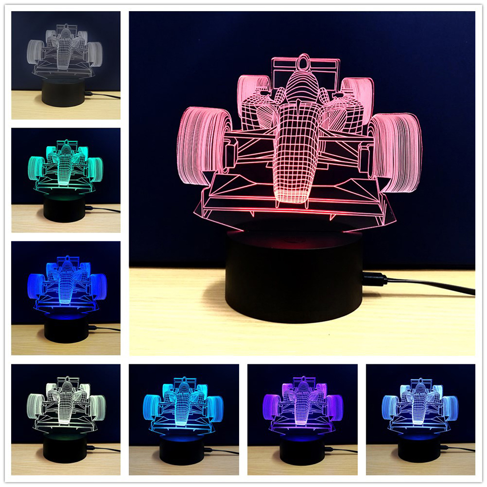 M.Sparkling TD101 Creative Car 3D LED Lamp