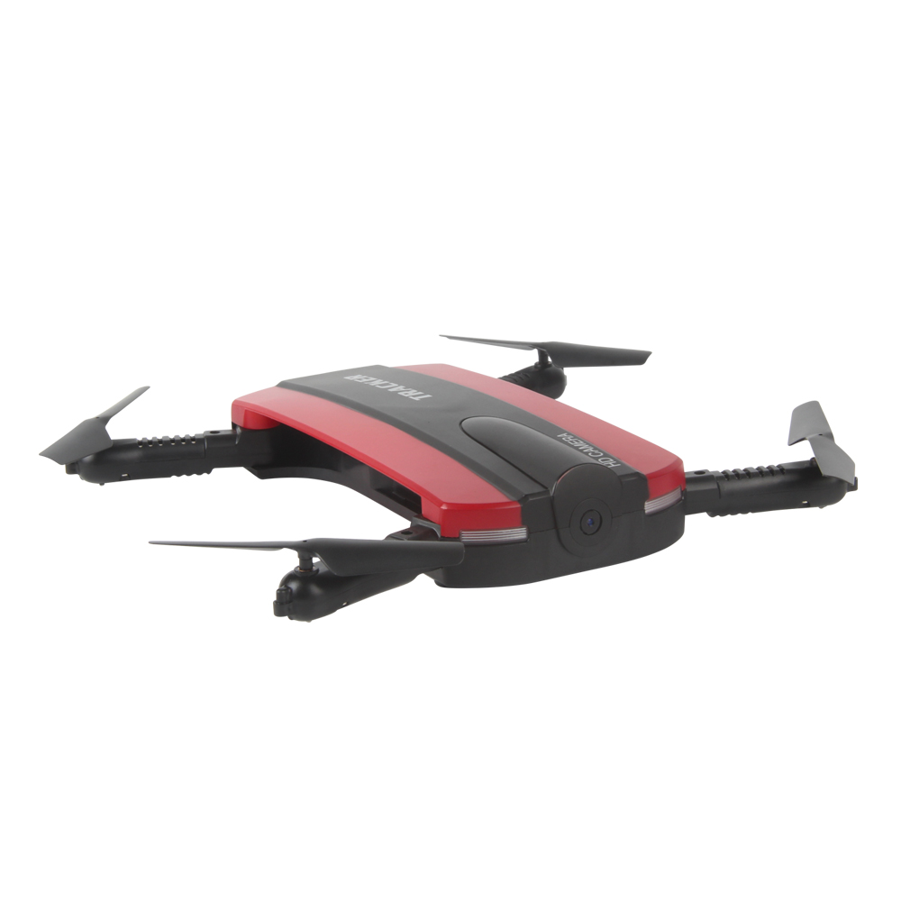 TKKJ 523 Tracker Foldable Mini Selfie Drone with Camera  Altitude Holding FPV  WiFi Phone Control RC Helicopter Toy