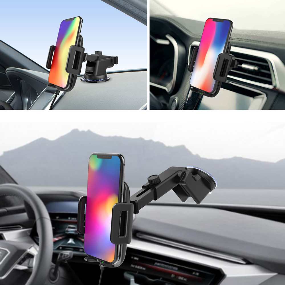CD Port Vehicle Wireless Fast Charger