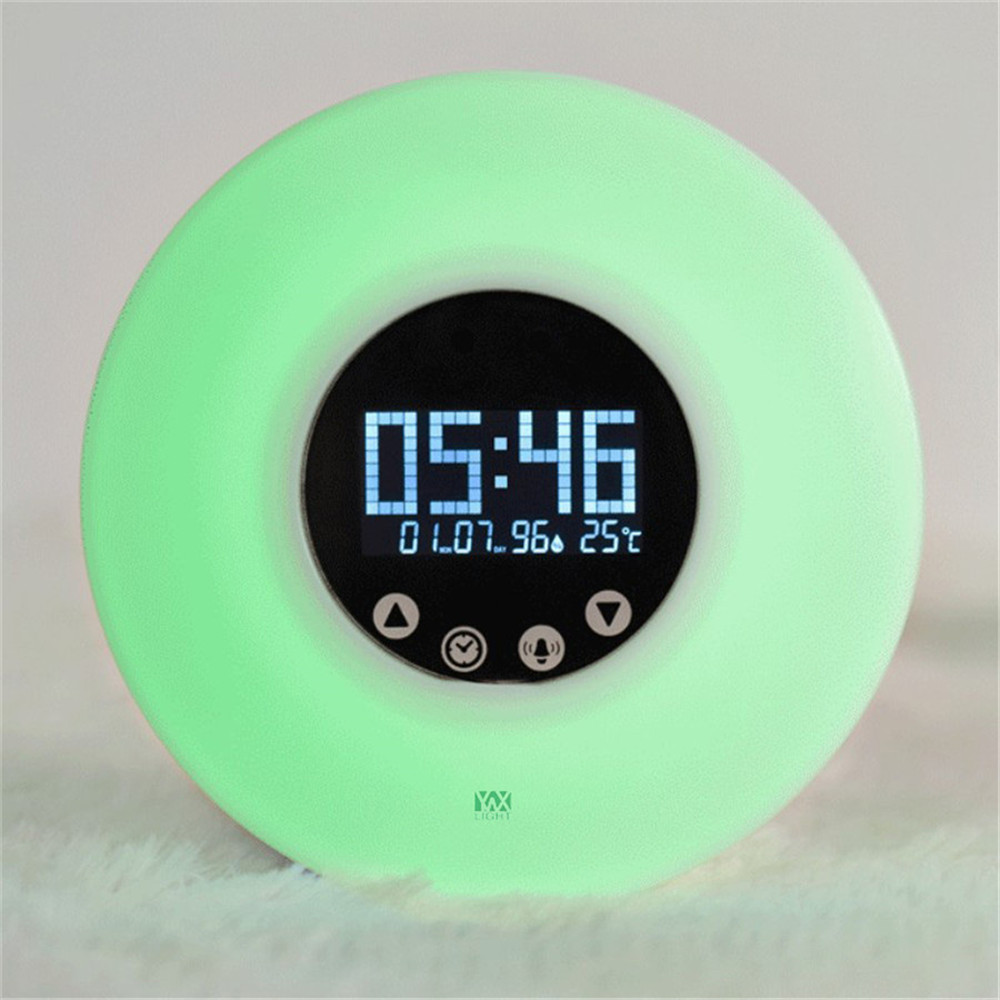 Ywxlight Wake Up Ligh Alarm Clock with Sunrise Simulation for A Natural Wakeup