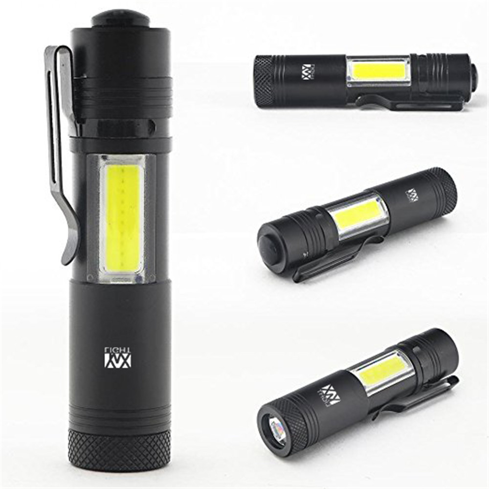 YWXLight AK38 Mini Portable Pocket Handheld Tactical Flashlight Torch