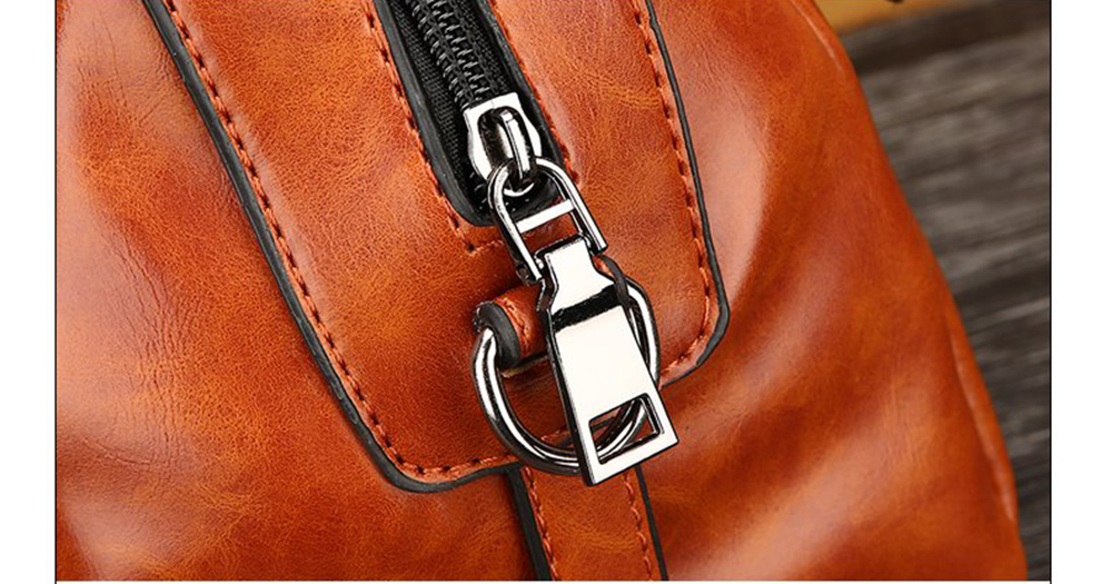 PU Leather Lady Handbag Fashion All Match Shoulder Messenger Bag