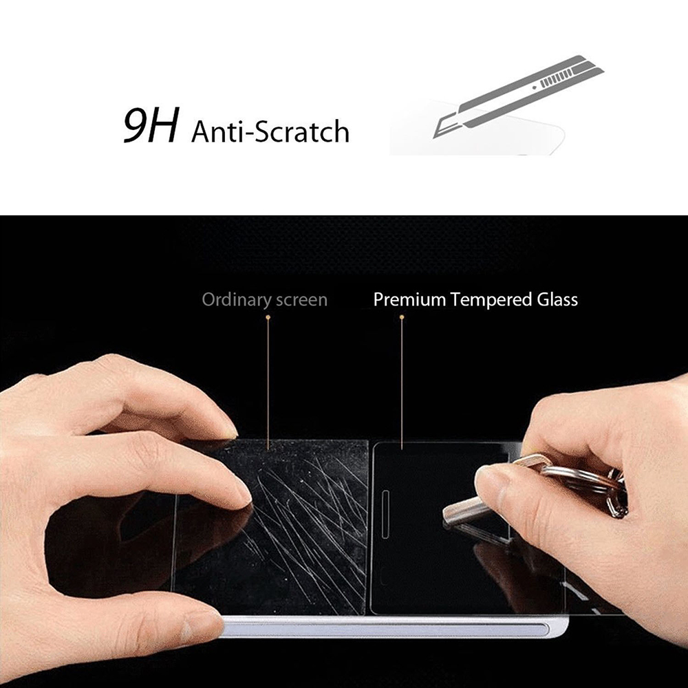 2pcs 2.5D 9H Hardness Tempered Glass Screen Protector for OnePlus 5
