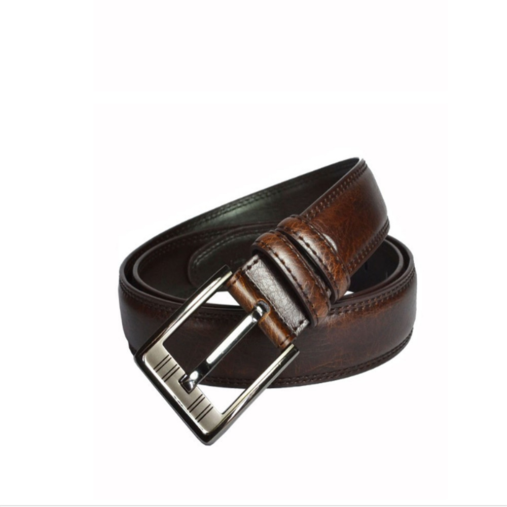 Pin Buckle Man Leather Belt