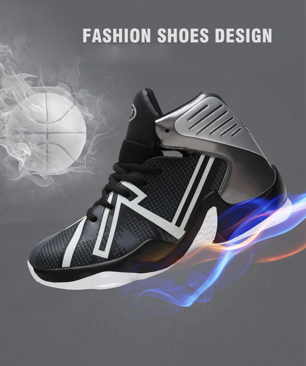 Basketball Shoes Breathable Jogging Walking Athletic Sneakers