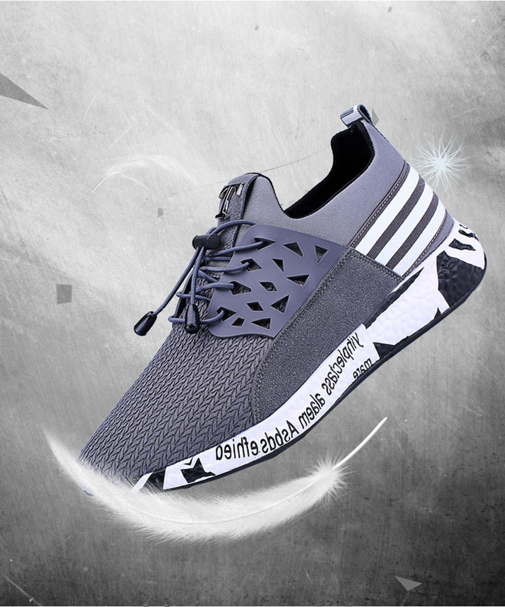Men Leisure Fashion Hiking Sport Running Shoes Breathable Walking Sneakers