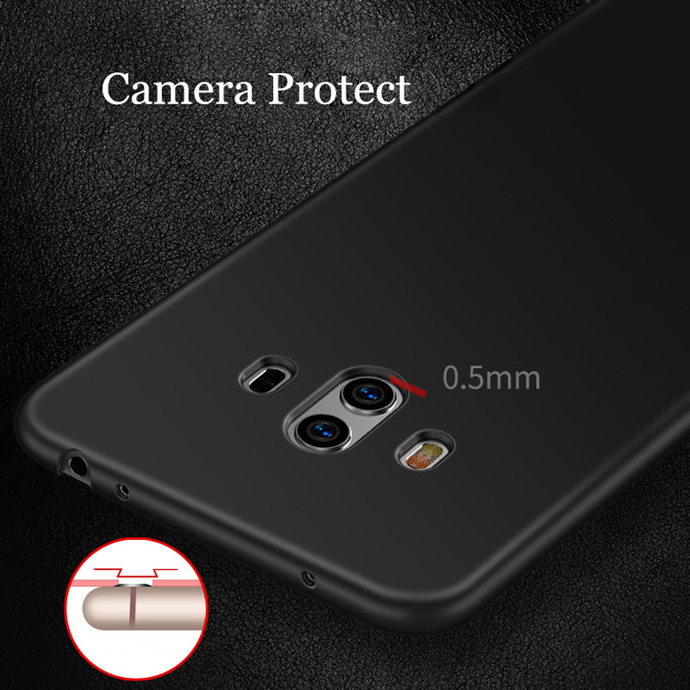 Case for Huawei mate 10 Ultra-thin Frosted Back Cover Solid Color Hard PC