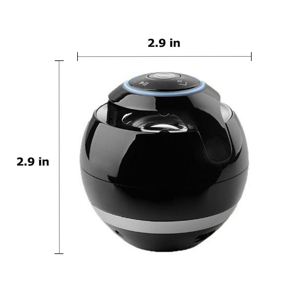 Magic Ball Wireless Bluetooth Speakers with Subwoofer Mini Round Hi-Fi Speaker Portable Hands-Free Indoor Outdoor for iPhone / iPad / iPod