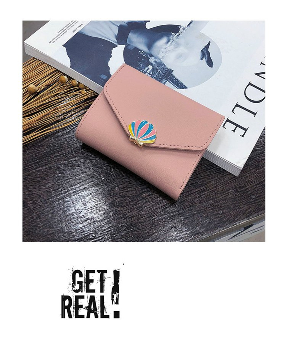 Simple Fashion Shell Wallet