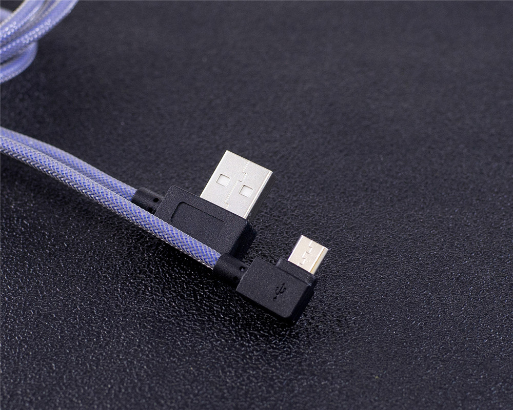90 Degree Micro USB Fast Charging Cable
