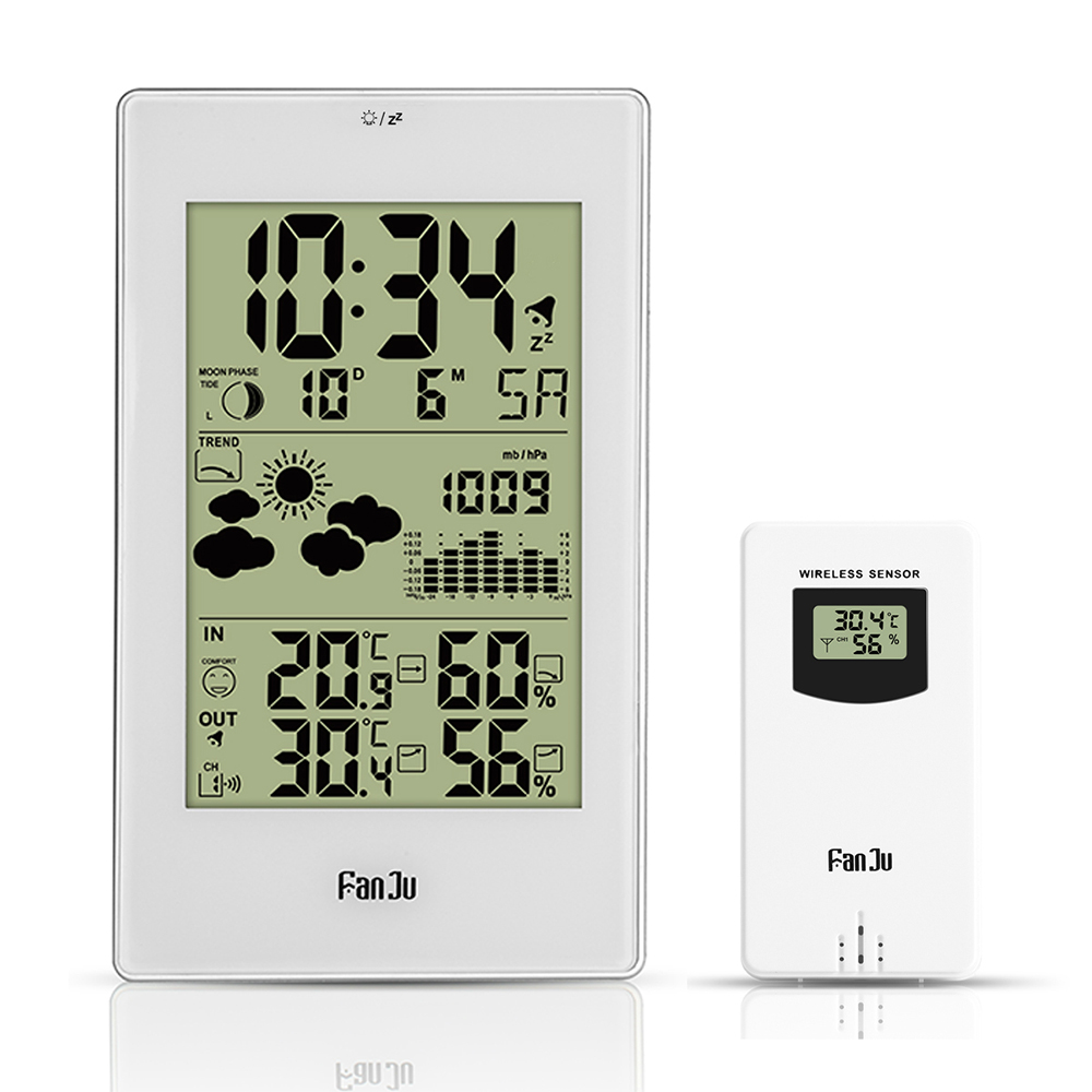 Dropshipping For Fanju Fj3352 Weather Station 10 In 1