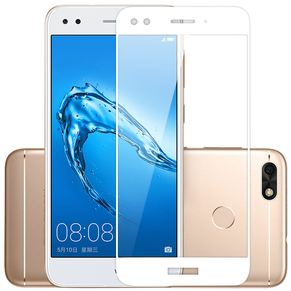 Screen Protector Film Full Cover for Huawei Y6 Pro 2017 / P9 Lite Mini Tempered Glass