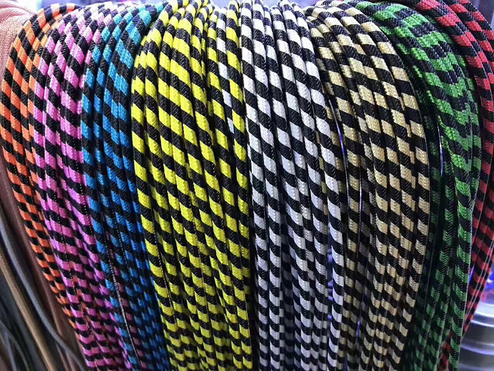 1M Nylon Braid Micro Data Charger Usb Cable for Android