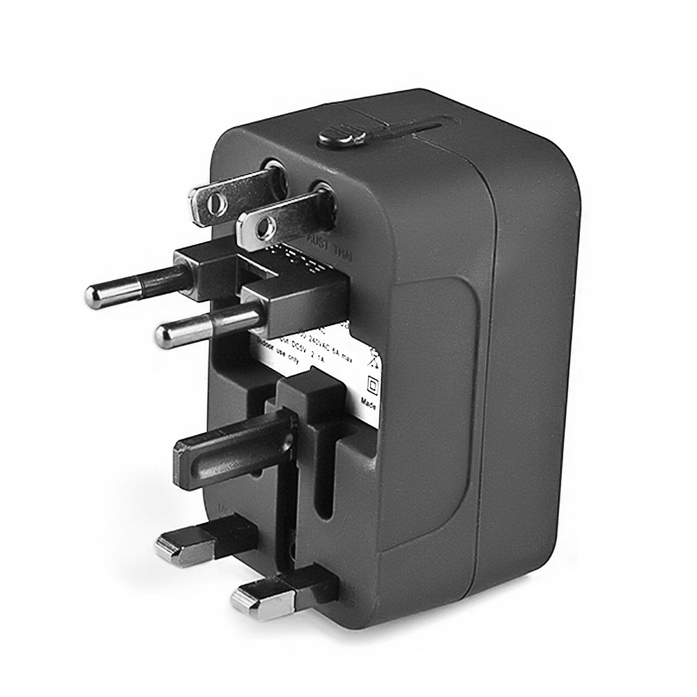 USB Universal Multi-function Travel Adapter