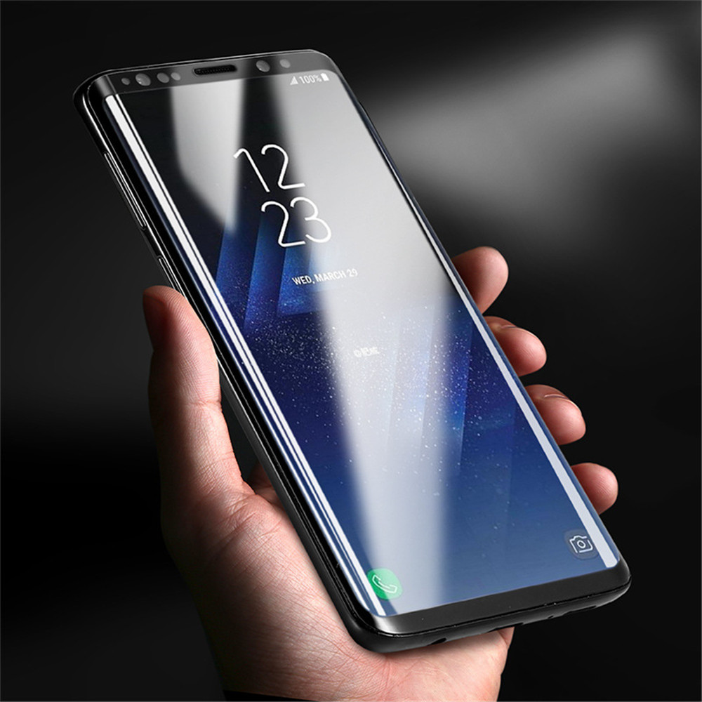 Edge Ultra Clear Anti-Scratch Anti-Fingerprint Glass-film for Samsung Galaxy S9 Plus