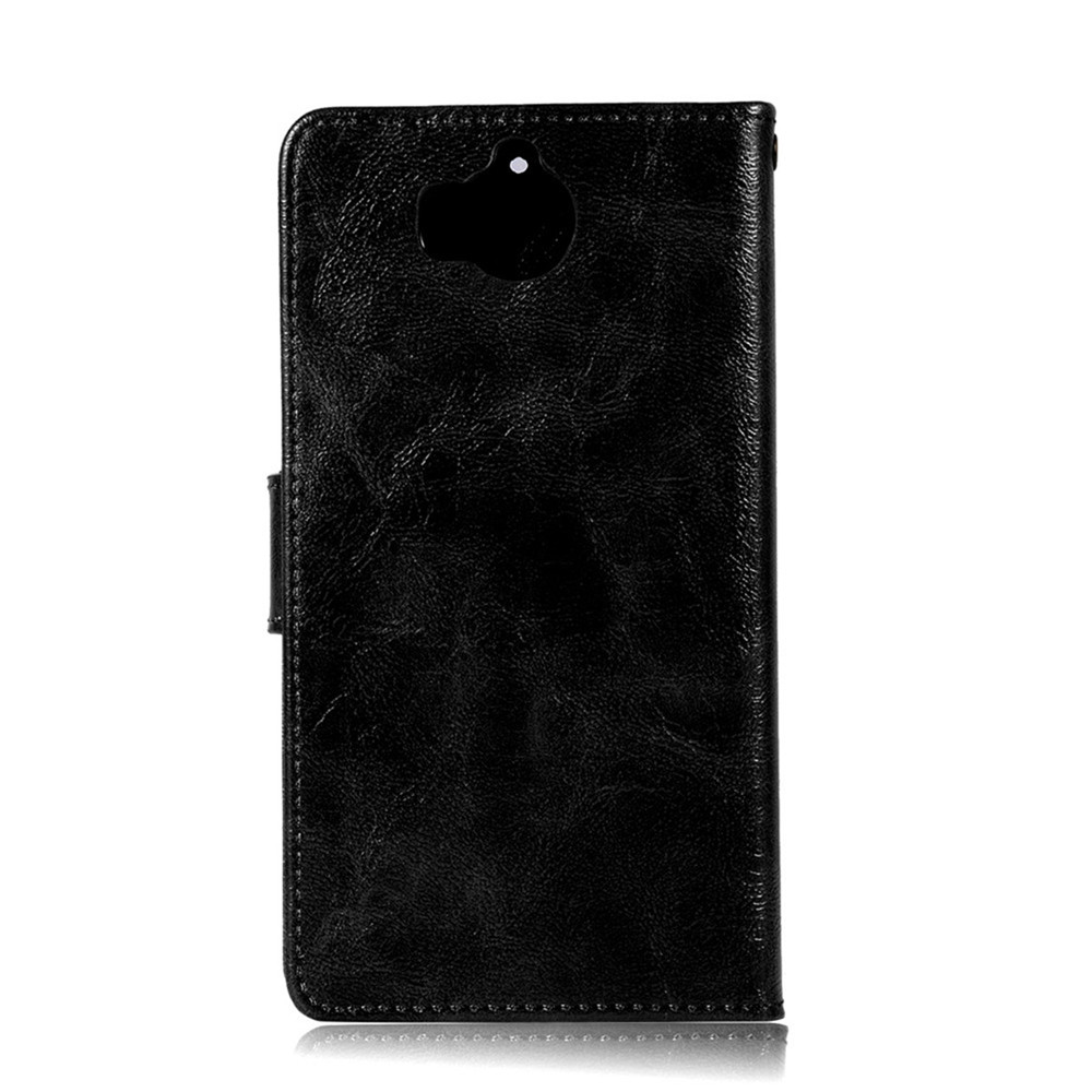 Flip Leather Case PU Wallet Cover Cases For Huawei Y6 2017 Smart Cover Luxurious Retro Fashion Phone Bag with Stand