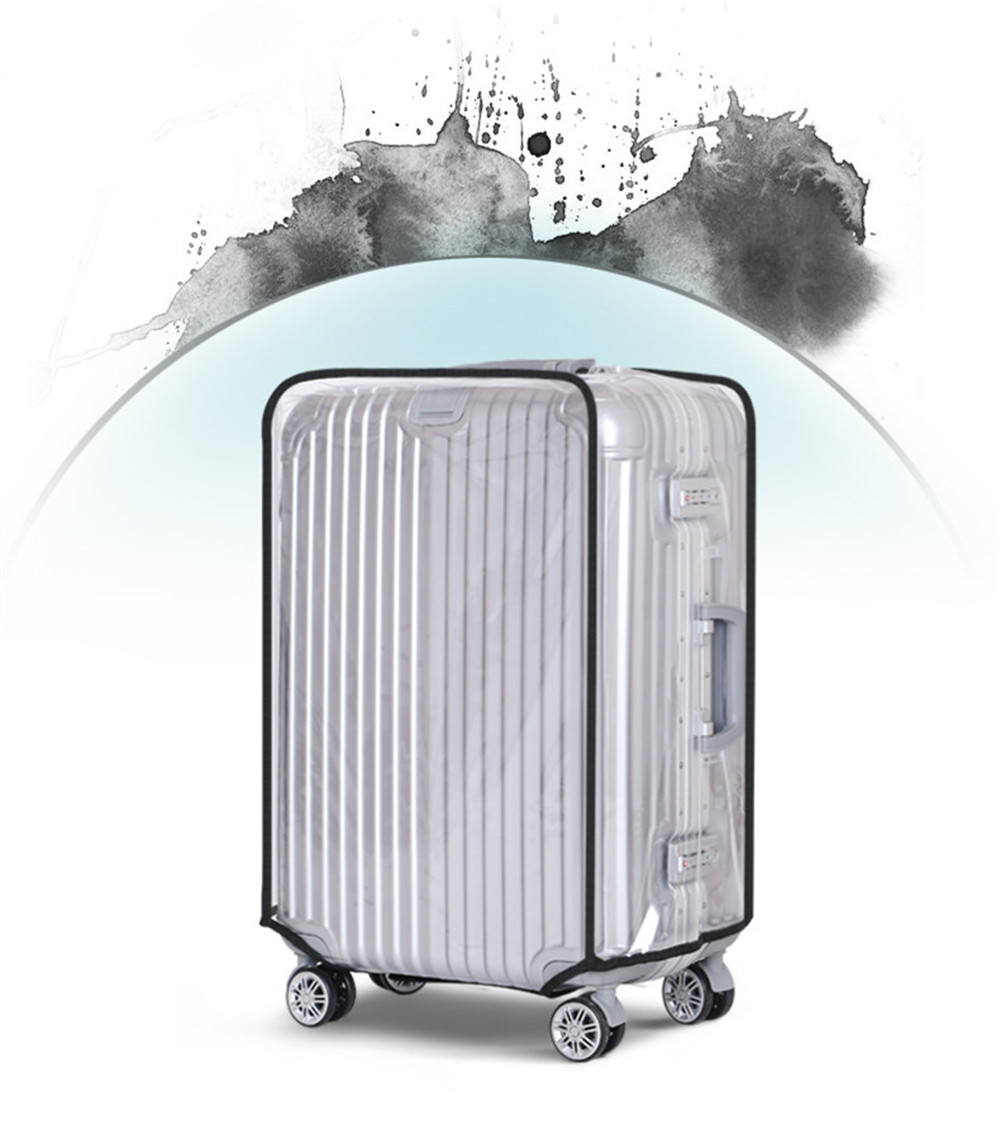 Clear PVC Suitcase Cover Protectors h Luggage Cover