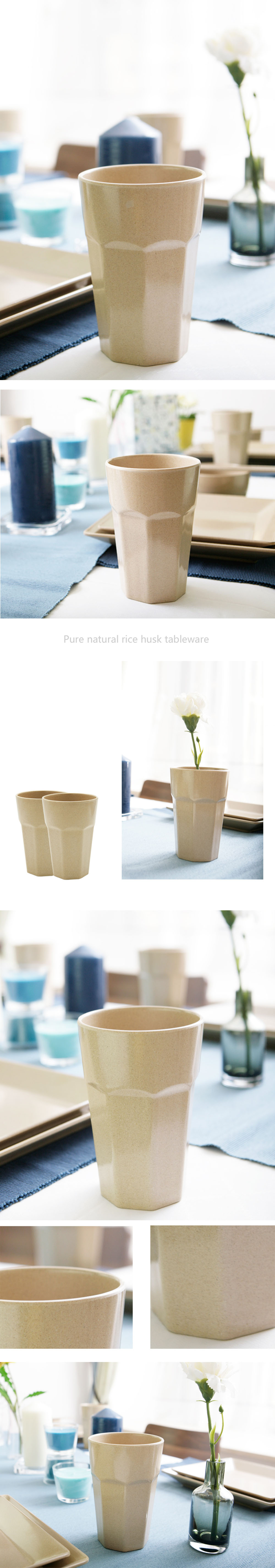 Water Cup Rice Husk Tableware