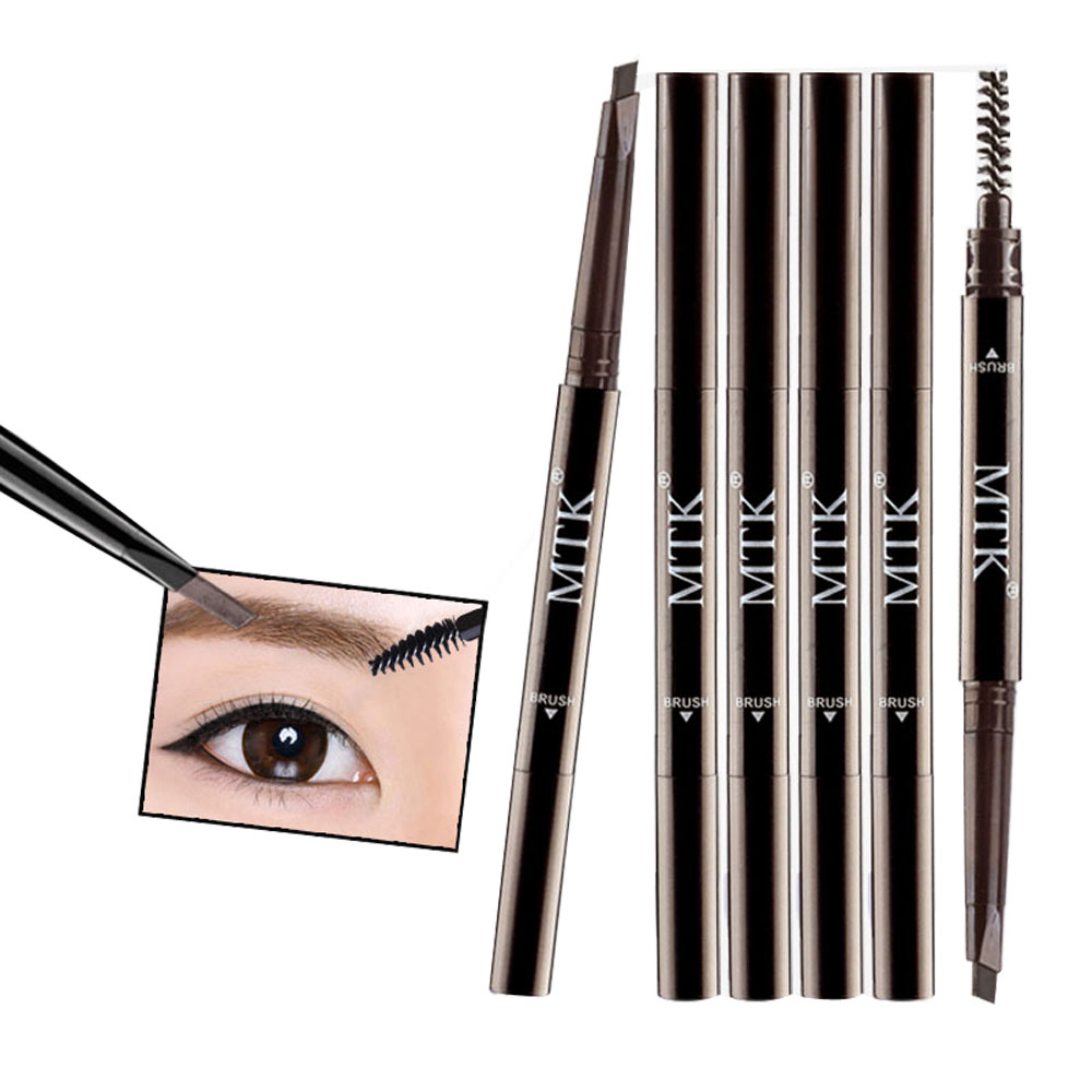 Double-Headed Automatic Eyebrow Pencil with Brush
