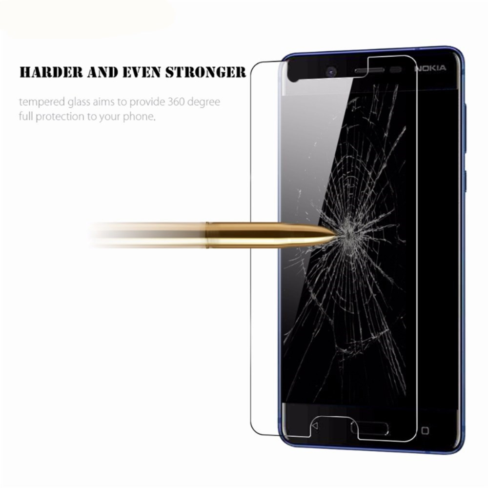 Screen Protector for Nokia 5 High Sensitivity Clear Premium Tempered Glass