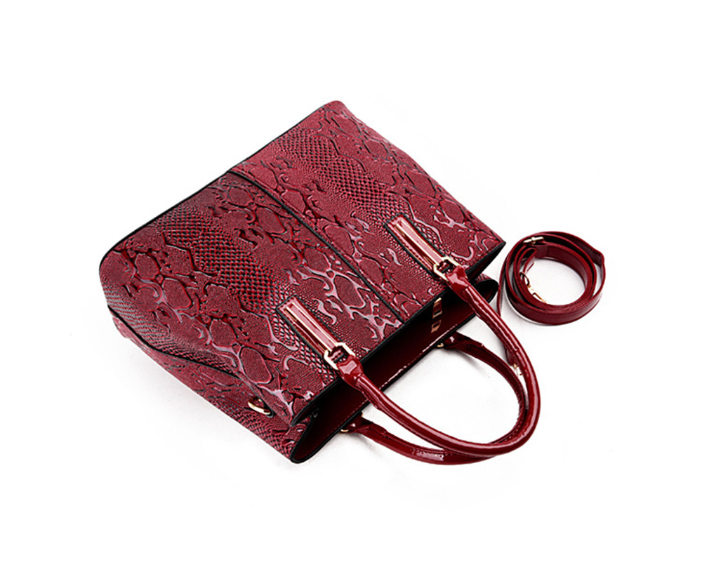 Shoulder Bag Embossed Ladies