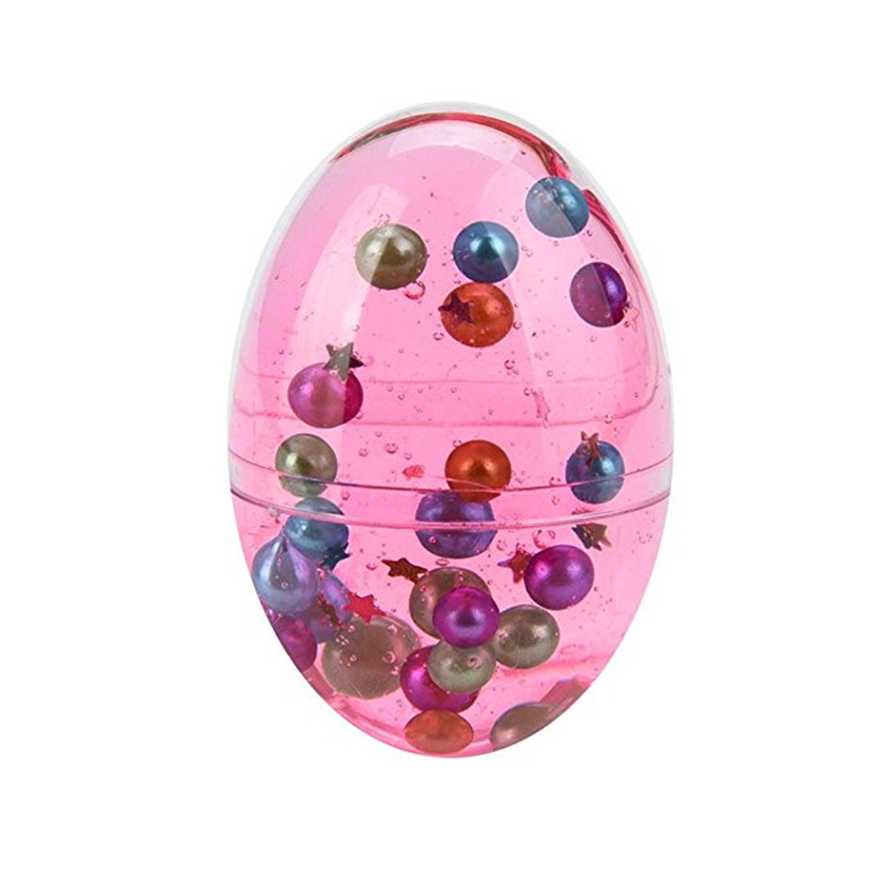 Colorful Mud Pearl Crystal Egg Soft Scented Putty Stress Relief DIY Sludge Egg for Kids Xmas Gift