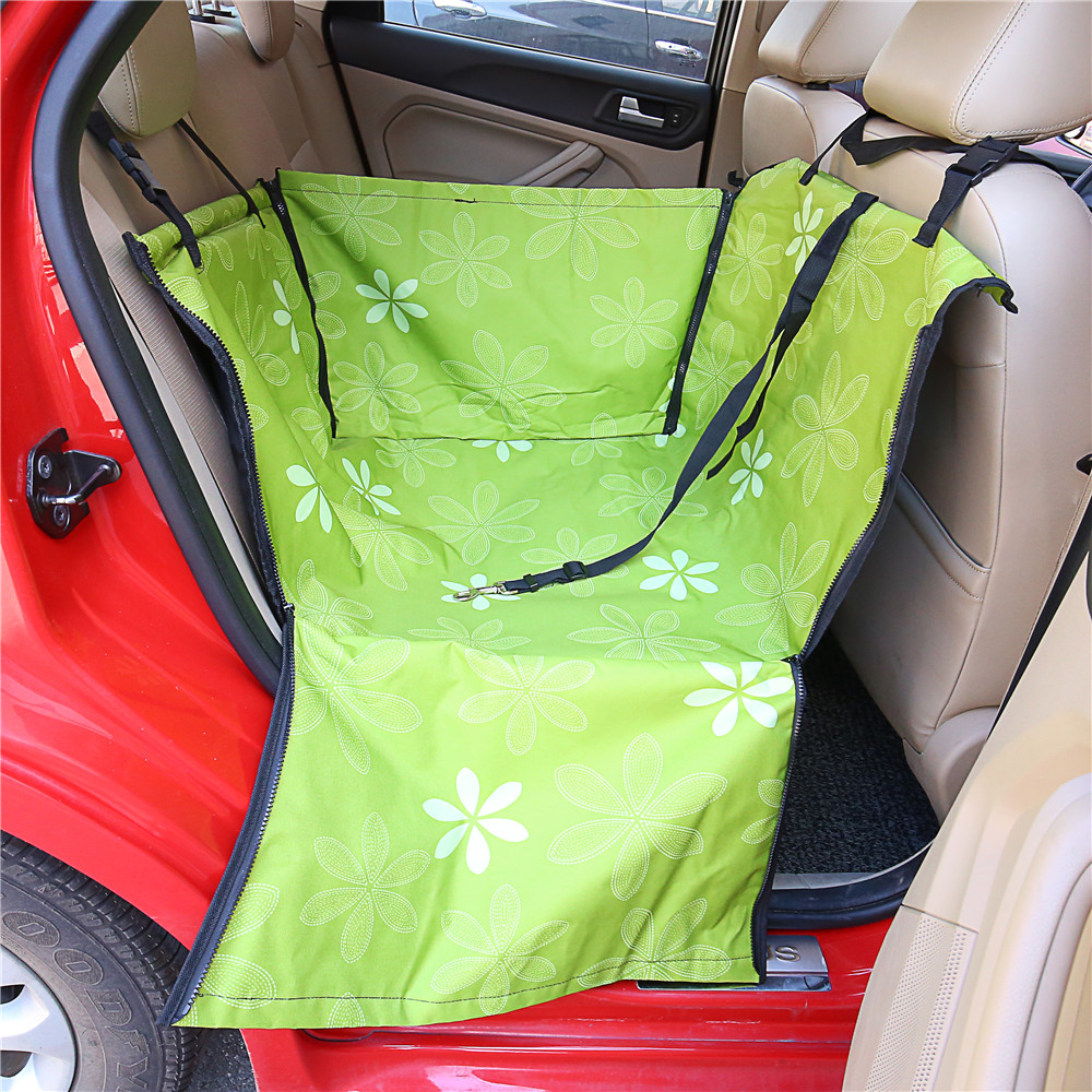 Sunflower Pet Dog Cat Waterproof Car Seat Cover Mat Blanket Rear Back Pets Hammock Cushion Protector