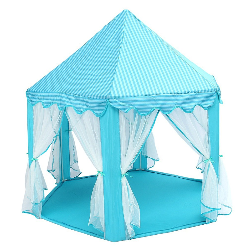 140x135cm Large Princess Castle Tulle Children House Game Selling Play Tent Yurt Creative