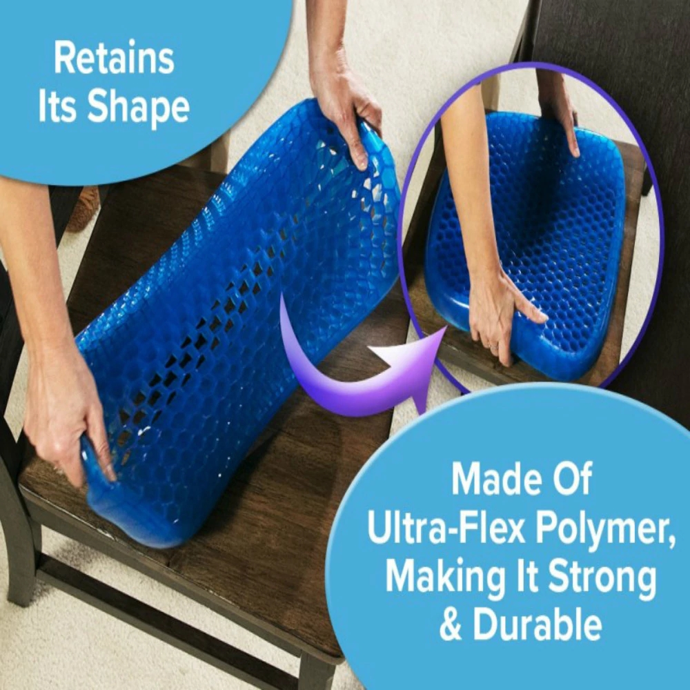 Sillcone Seat Cushion with Washable Cover