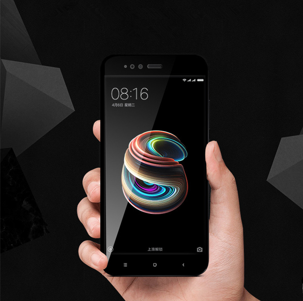 3D Full Cover Tempered Glass for Xiaomi 5X HD Screen Protector Film