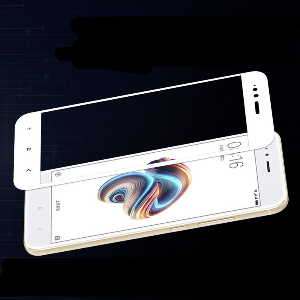 3D Full Cover Tempered Glass for Xiaomi A1 HD Screen Protector Film