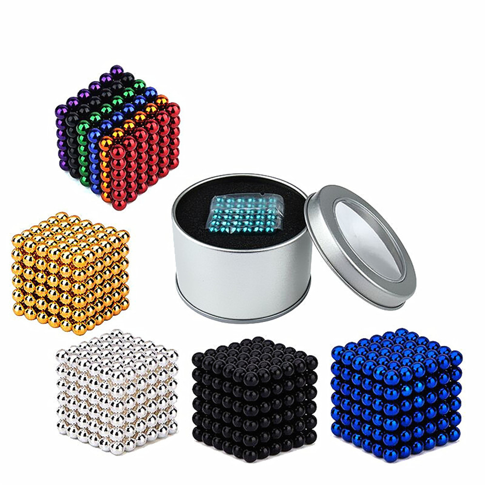 Magnetic Cube 216PCS Children'S Puzzle Buckyballs Magic DIY Educational Toy