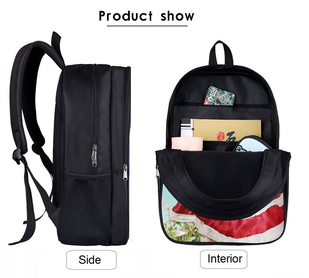 16 Inch Cheap Quality Personal Women Backpack Girls School Bag