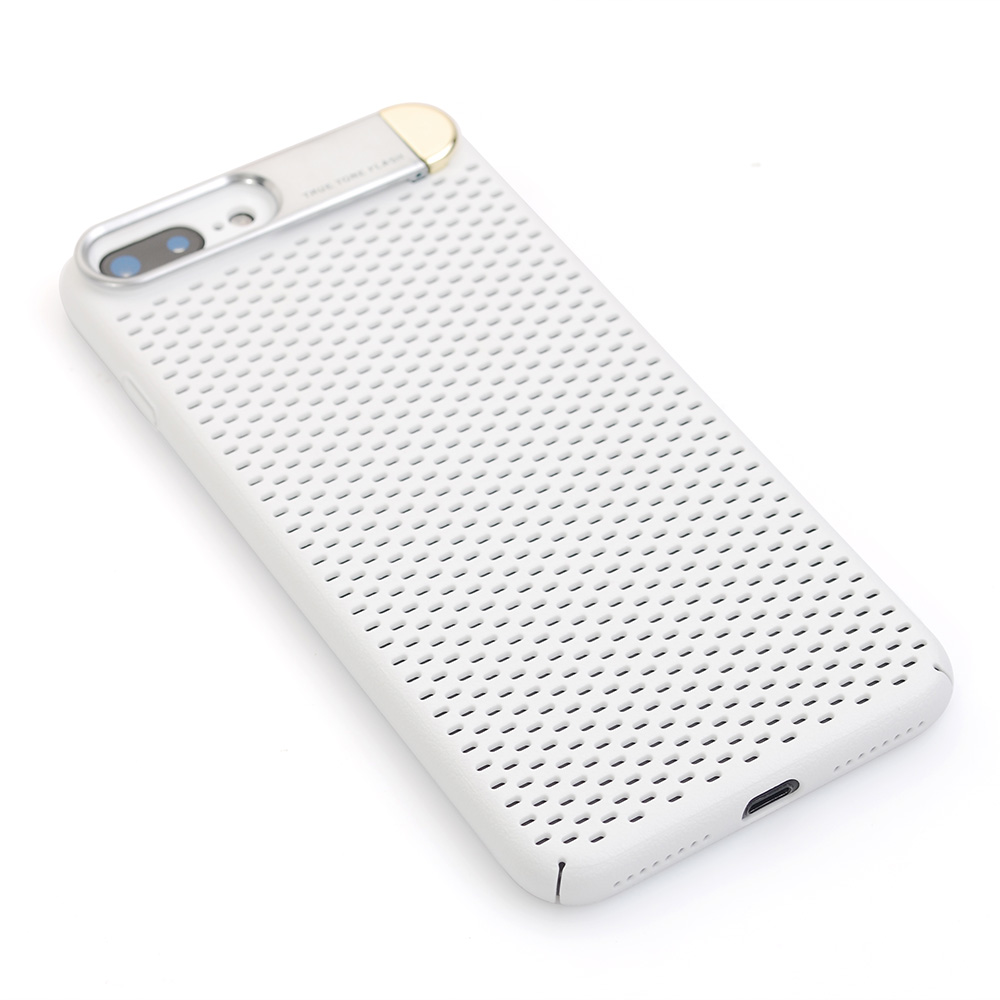 Breathable Phone Case with Bracket for iPhone X