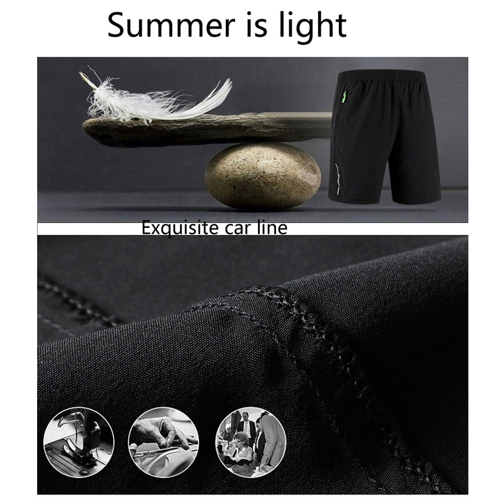 Men's Outdoor Sports Casual Large Size Summer Thin Quick-Drying Pants
