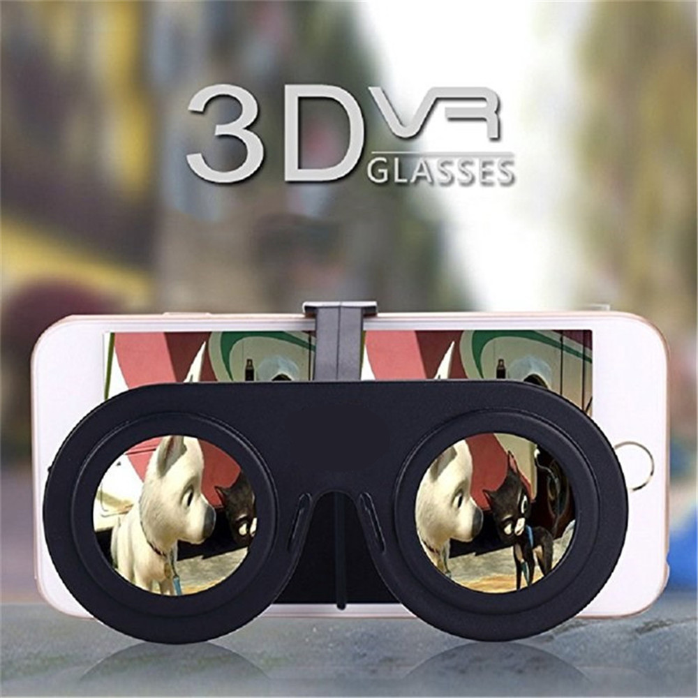 Mini Virtual Reality Folding 3D Glasses VR Compliant with Smart Phone
