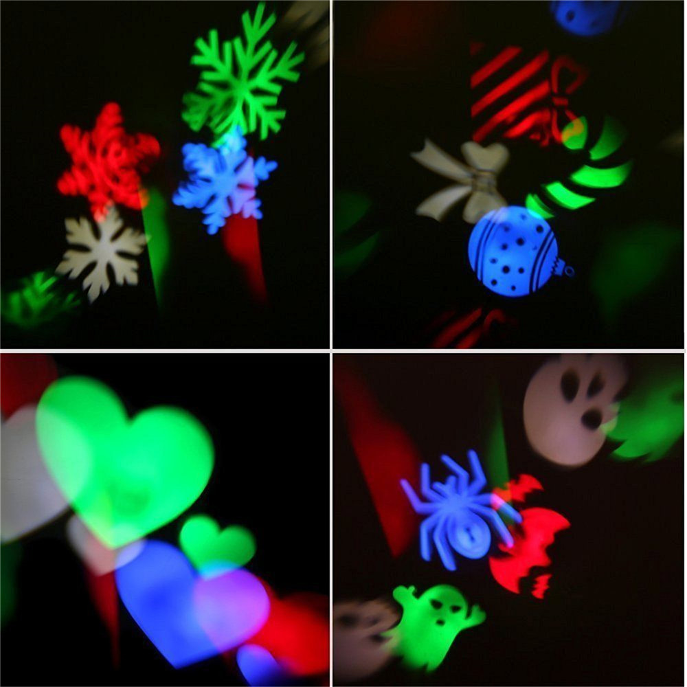 YWXLight NO Waterproof LED Projection Lights Snowflake Christmas Light AC 85 - 265V
