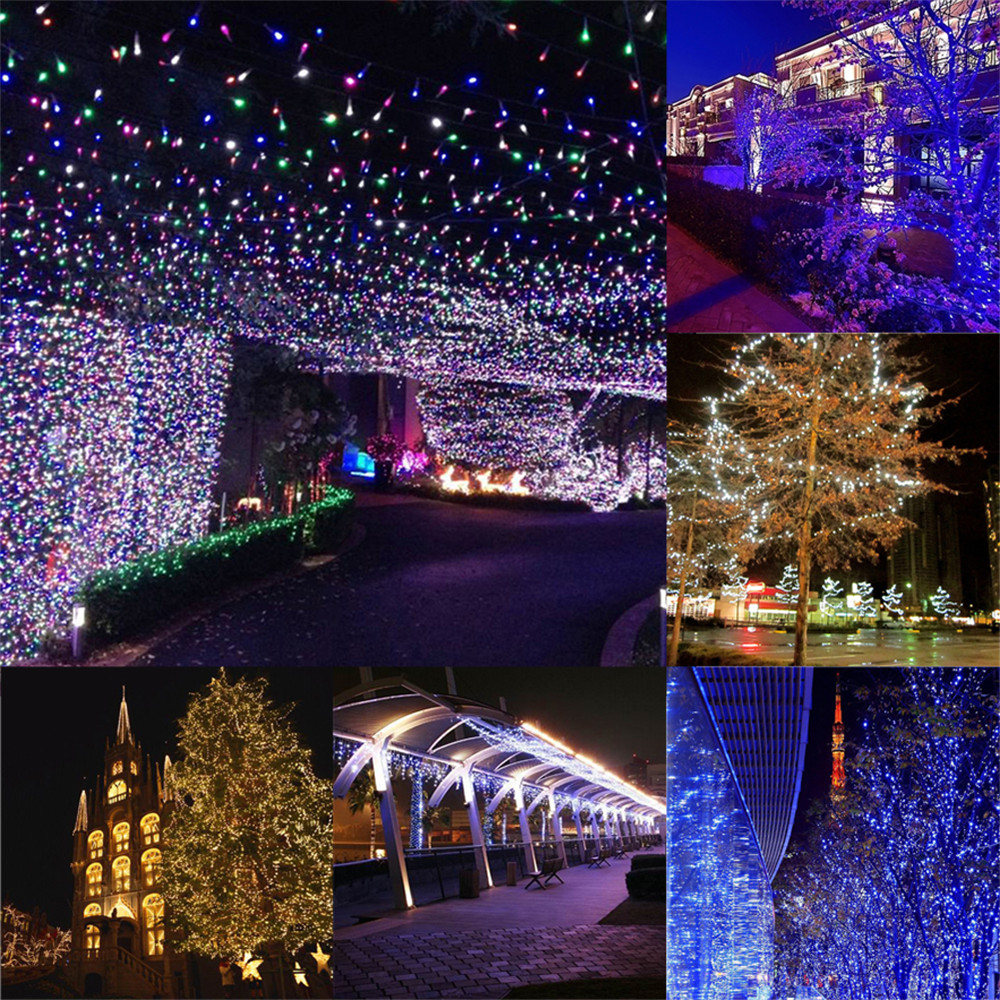 YWXLight 15M Waterproof Battery Powered LED String Light for Christmas Decoration DC 5V