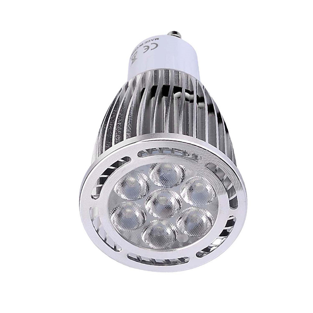 10PCS YWXLight GU10 3030SMD 7-LED Recessed Lighting LED Spotlight AC 85 - 265V