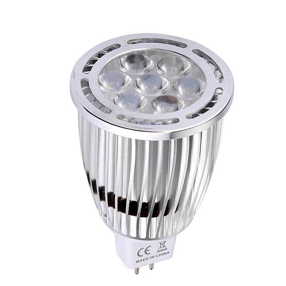 10PCS YWXLight MR16 3030SMD 7-LED Recessed Lighting LED Spotlight AC / DC 12V