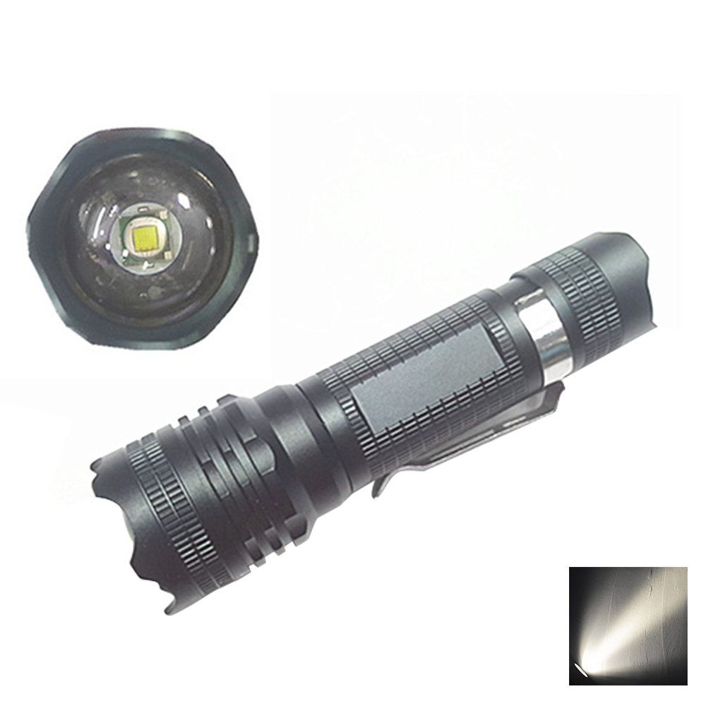 YWXLight LED Flashlight Mini Tactical Handheld Torch Portable Zoomable Light Lamp