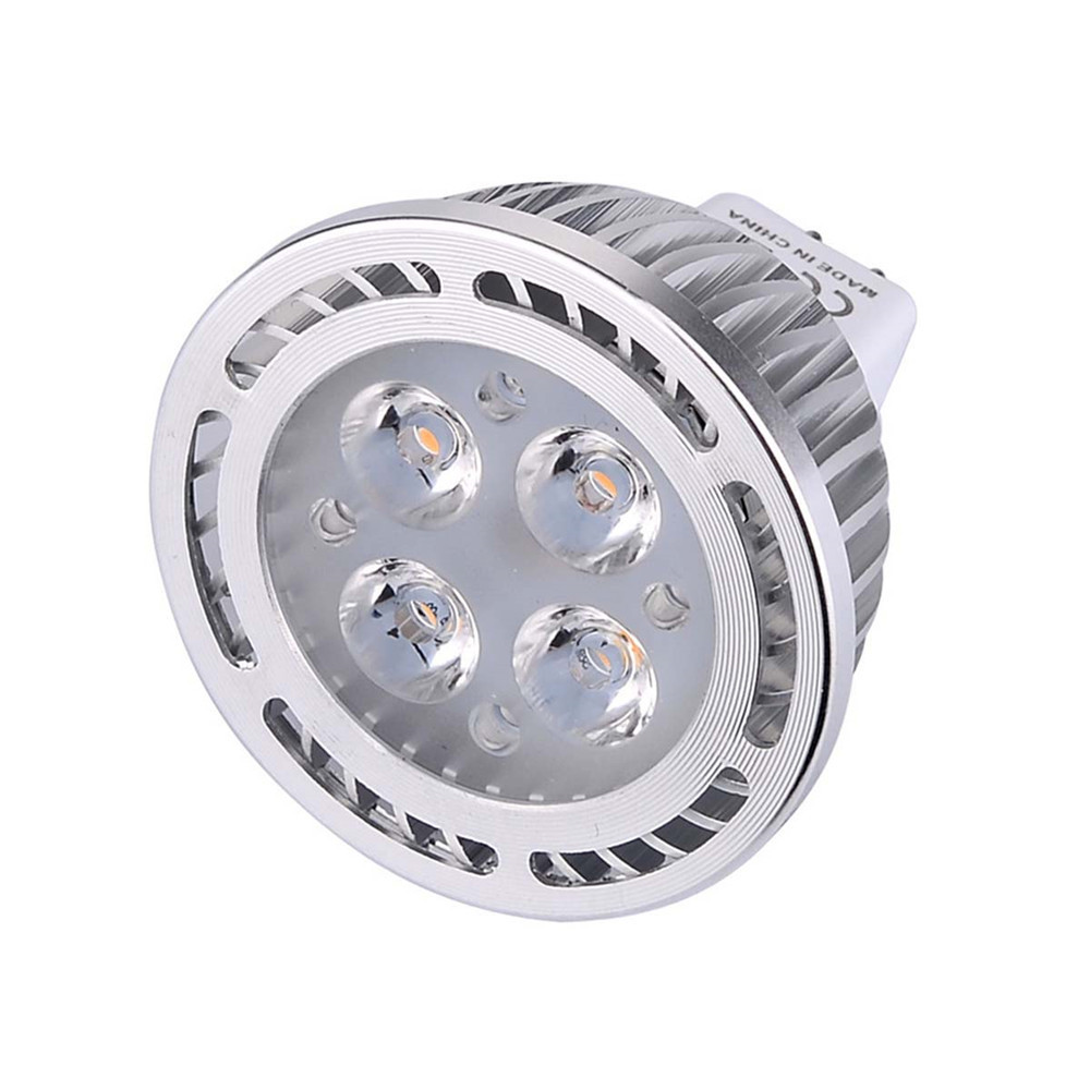 YWXLight 10PCS  4W MR16 LED Spotlight 180 Degree Beam Angle AC / DC 12V