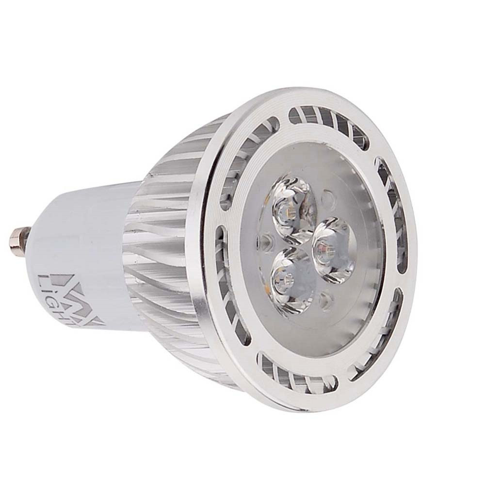 YWXLight 10PCS  GU10 3030SMD 3-LED Recessed Lighting LED Spotlight AC 85 - 265V