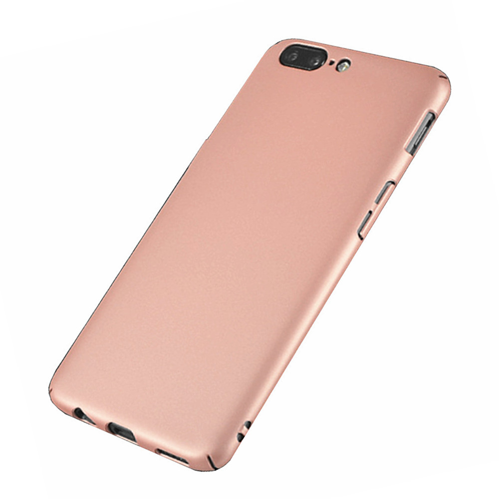 Case for One Plus 5 Ultra-thin Frosted Back Cover Solid Color Hard PC