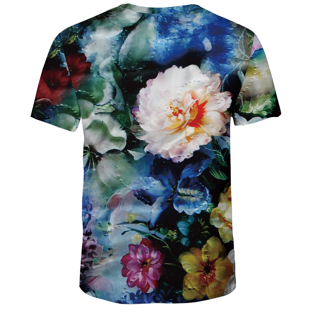 Summer Fashion 3D Print Men's Short Sleeve T-shirt